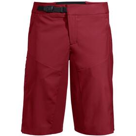 VAUDE Bracket Spodnie krótkie Mężczyźni, czerwony